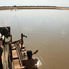 The Lwanga River ferry service.