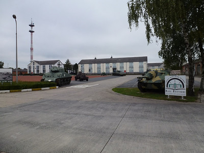 Visit to Bastogne Barracks ..Guided tour..this is an opperational Belgian Army Barracks