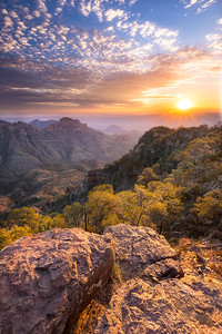 North East Rim Sunrise, Big Bend
