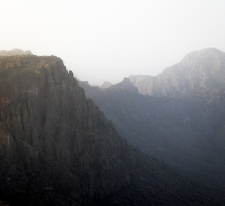 Chisos Haze, Big Bend