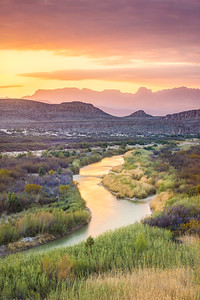 Perfect Evening on the Rio Grande, Big Bend