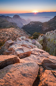 Sunrise from Emory Peak, Big Bend