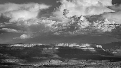 Sierra del Madres, Big Bend (Black and White)