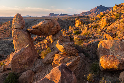 Unchanging, Balanced Rock, Big Bend