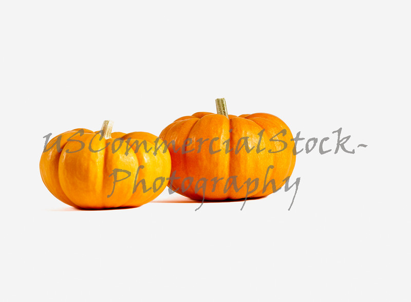 Two Small Pumpkins