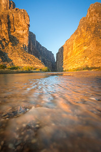 Santa Elena at Sunrise, Big Bend
