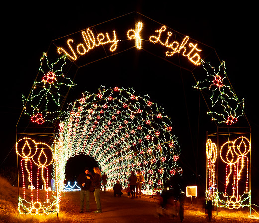 Valley of Lights Christmas Display