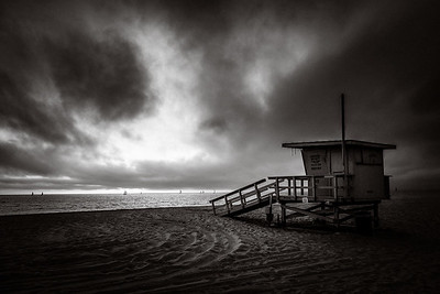 Tower and Boats, Redondo Beach