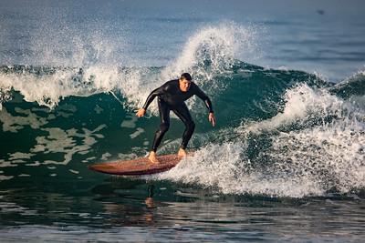 Surfing, El Porto.