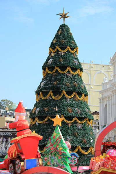 Christmas Tree, Senado Square, Macau