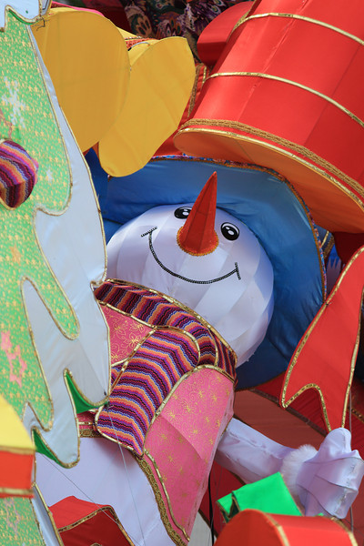 Christmas Character on display in Macau