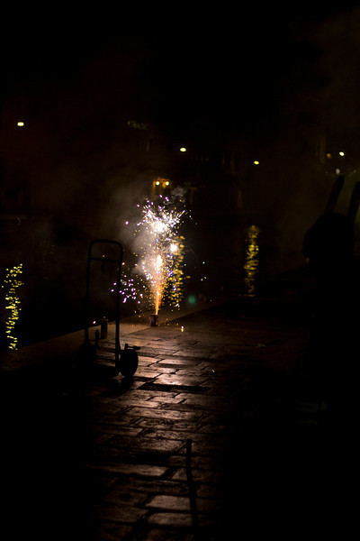 Italy, Venice, New Year's Celebrations SNM