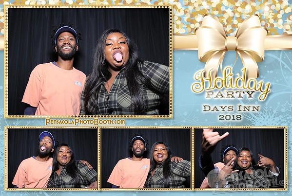 Days Inn Holiday Party 12-17-2018
