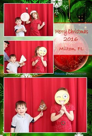 Family Christmas Milton, FL 12-27-2016