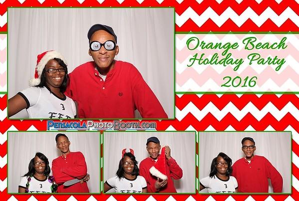 Orange Beach Holiday Party 12-10-2016