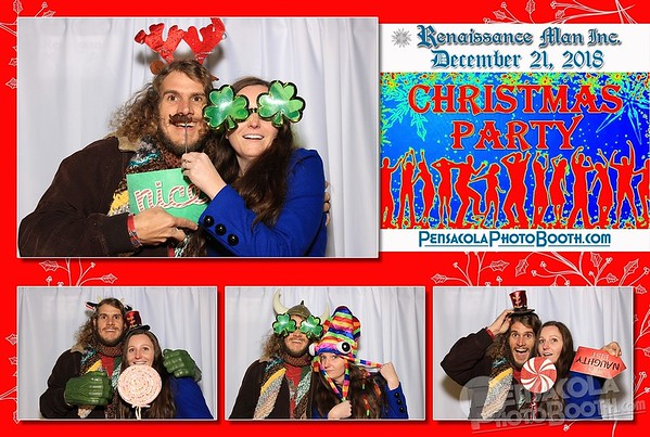 Renaissance Man Christmas Party 12-21-2018