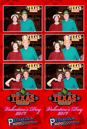 Texas Roadhouse Valentine's Day 2-14-2017