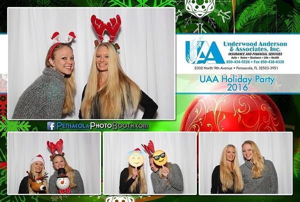 UAA Christmas Party 12-09-2016