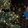 Major General and Mrs. Brown welcomed Fort Benning families to meet Santa at Riverside Dec. 9, 2010.  The annual event, sponsored by MWR's Child, Youth and School Services, included free treats and activities and prizes.  Photo by Bridgett Sharp Siter for Fort Benning Directorate of Family and Morale, Welfare and Recreation.