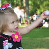 MWR's Child. Youth and School Services hosted the annual Spring Eggstravaganza April 16 on the lawn of Riverside, the home of Fort Benning's commanding general, MG Robert Brown, who joined the fun with his 3-year-old granddaughter. More than 3,500 people attended the event, which included egg hunts, prizes, games, inflatables, dancing, a visit with the Easter bunny and more. Photos by Bridgett Sharp Siter for Fort Benning MWR.