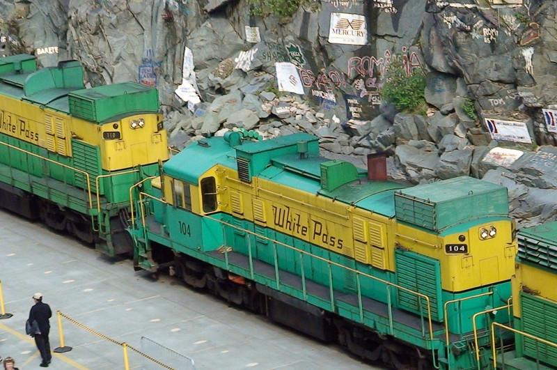 DSC00044 White Pass Railway at Skagway  (Vidcam still) SM