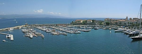 Ajaccio Harbour Panorama 2 SM