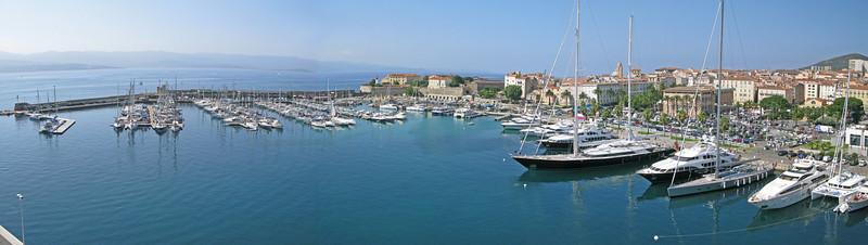 Ajaccio Harbour Panorama SM