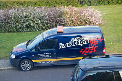 Frank Pluijm's work truck