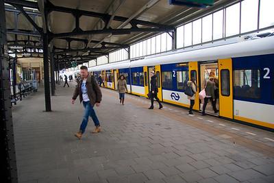 Bussum train station.