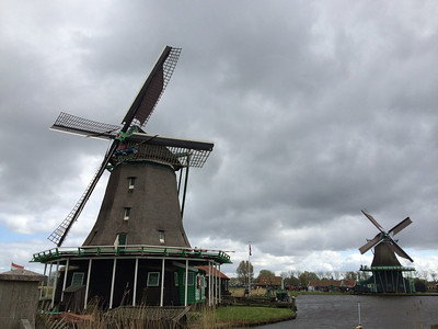 Windmills of the Zaanse Schans