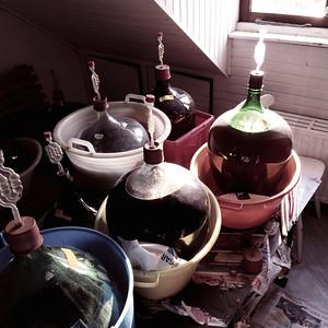 Frans's wine jugs