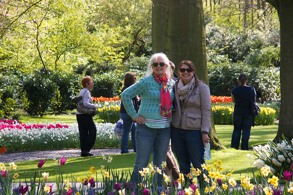 Day at the tulips in Keukenhof