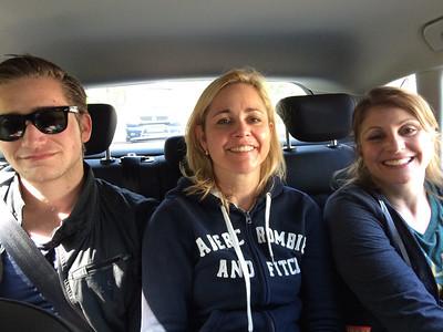 Nijmegen with Odette and Mark