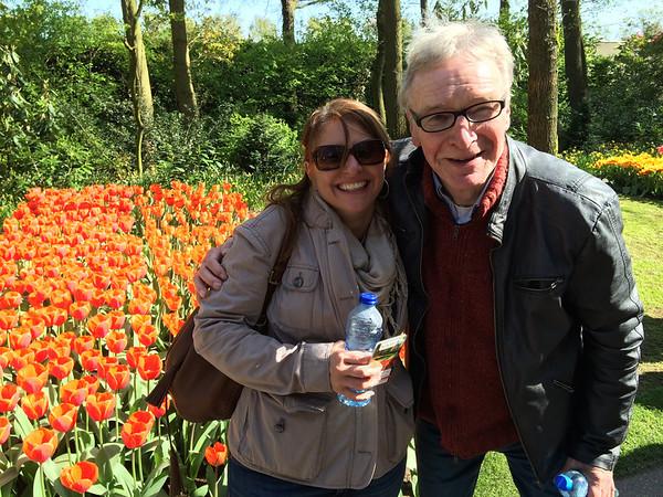 Day at Keukenhof Tulip Garden