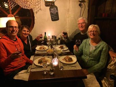 Dinner in Egmond