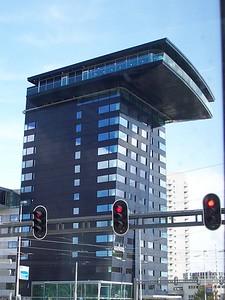 Rotterdam has lots of unusual buildings.