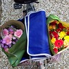 Flowers from the market. Two large bundles cost about $12 total.
