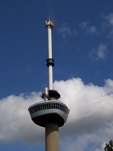 Euromast tower in Rotterdam.