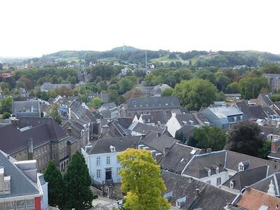 Maastricht from Sint Jankerk (Saint John's Church) Tower