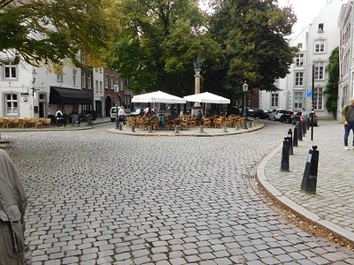 Dining terraces abound all over Holland