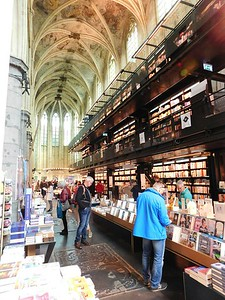 13th Century cathedral turned bookstore