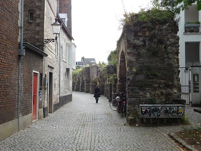 Old city wall - Maastricht