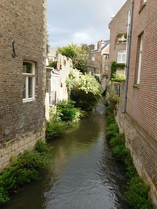 The Jeker River in Maastricht