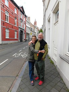 Walking through Maastricht