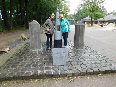 The highest point in Holland 322 meters