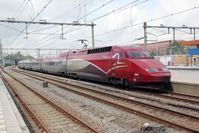 Thalys, 4540 at Rotterdam Centraal on 10th July 2011