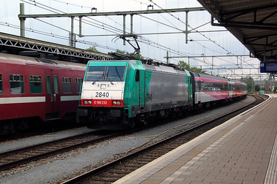 SNCB, 2840 (91 88 7186 232-5 B-B) at Roosendaal on 11th June 2012 working IC9225