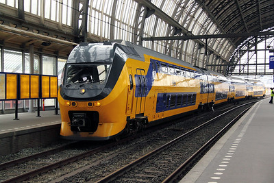 1) 9590 at Amsterdam Central on 11th June 2012