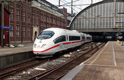 2) DB, 406 585 (93 80 5406 585-0 D-DB) at Amsterdam Central on 11th June 2012
