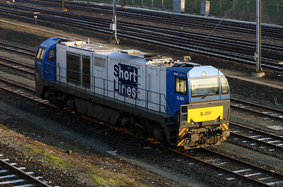 ShortLines, SL2001 at Rotterdam SL Depot on 8th March 2004